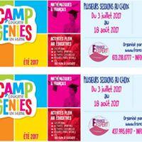 Camp ducatif  Gnies en Herbe  - t 2017