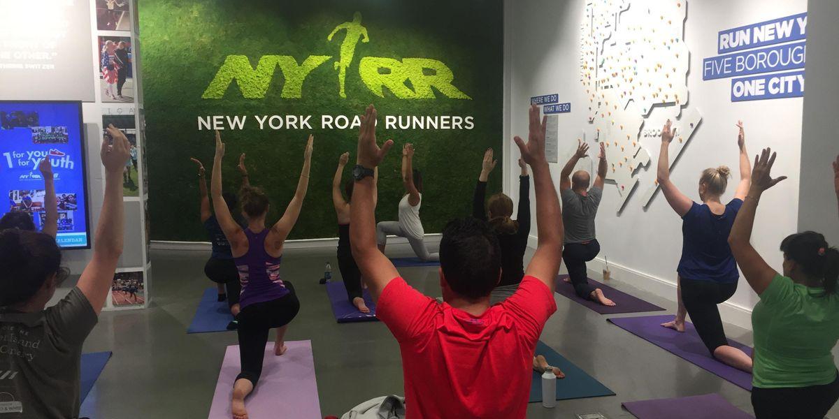 RUNHealthy New Balance Afternoon Yoga
