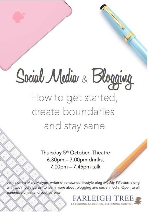 Blogging & Social Media Getting Started & Staying Sane