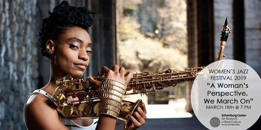 2019 Womens Jazz Festival WEEK 3 Lakecia Benjamin