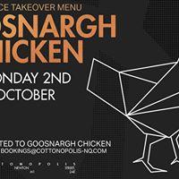 Goosnargh Chicken Menu Takeover