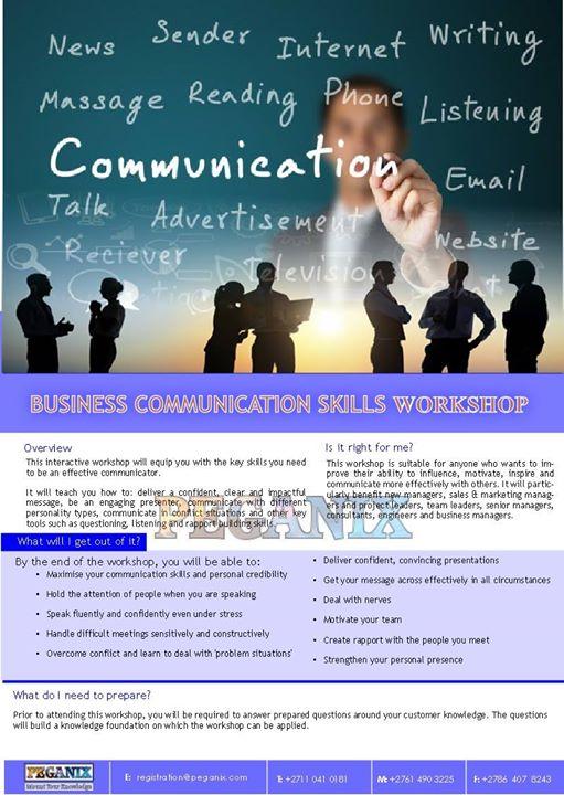Business Communication Skills at Lusaka, Zambia, Lusaka