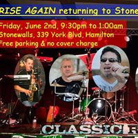 RISE AGAIN returning to Stonewalls