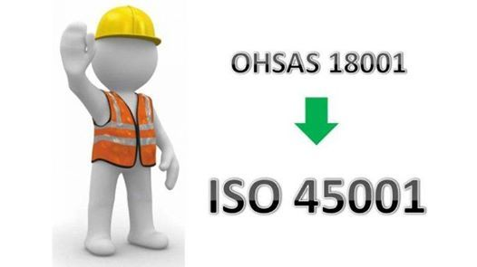 Transition from OHSAS 18001 to ISO 450012018 (TV Certified)