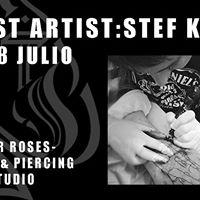 Guest artist Stef Krief