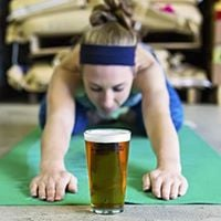 Yoga Barre Fusion at the Brewery