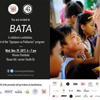 Bata A Childrens Exhibit with Taverne Gutenberg