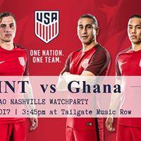 USMNT vs Ghana  International Friendly