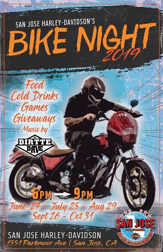 San Jose Harley >> San Jose H D Bike Nights At Lane Splitter Harley Davidson