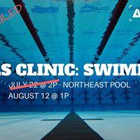 Skills Clinic Swimming
