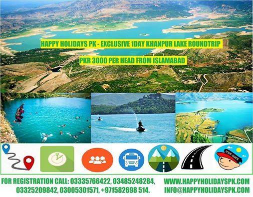 1 Day Khanpur Lake x Taxila Roundtrip 2018