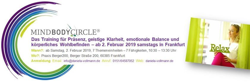 MindBodyCircle Frankfurt - Baustein 5 Leben in Balance