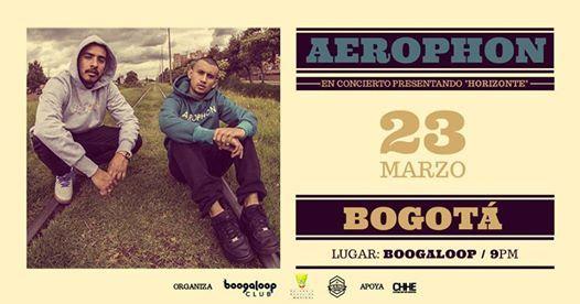 Aerophon en Bogot concierto presentacin de Horizonte