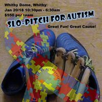 Slo-pitch for Autism Whitby Dome