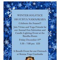 Winter Solstice 108 Surya Namaskara