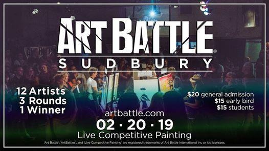 Art Battle Sudbury - February 20 2019