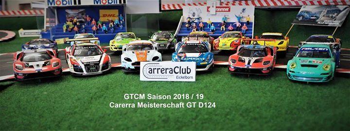 GTCM - GT Carrera D124 Meisterschaft 3. Lauf