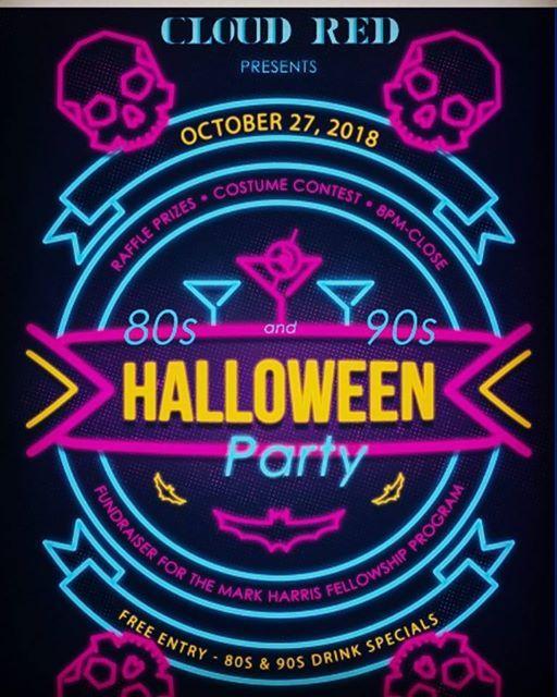 80s 90s halloween party