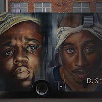 Graffiti In Black &amp Cocktails DJ Smooth