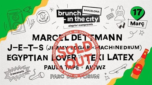 SOLD OUT Brunch -In the City 1 Marcel Dettmann J-E-T-S
