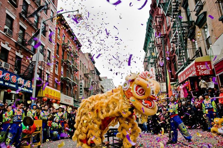 The Chinese New Year in NYC 2018