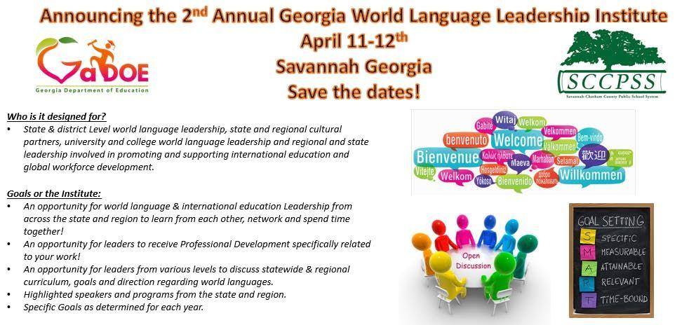 2nd Annual Georgia World Language Leadership Institute