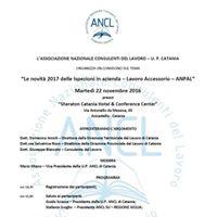Le Novit 2017 delle Ispezioni in Azienda - Lavoro accessorio - ANPAL