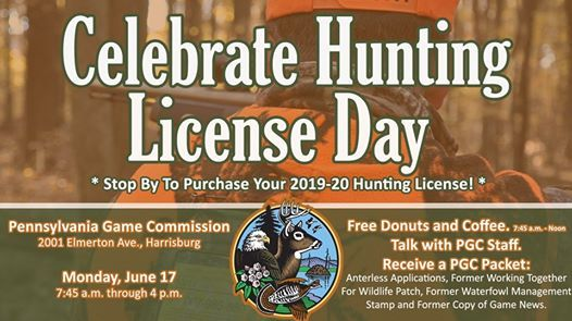 Celebrate Hunting License Day at the Game Commission
