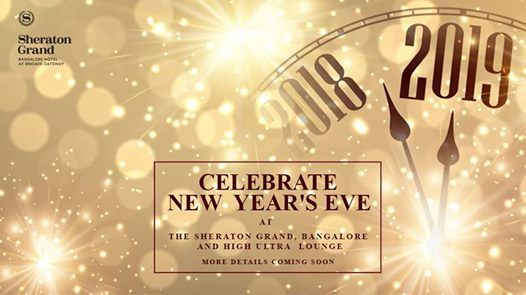 Biggest New Year Eve at Ultra High Lounge & Sheraton Grand