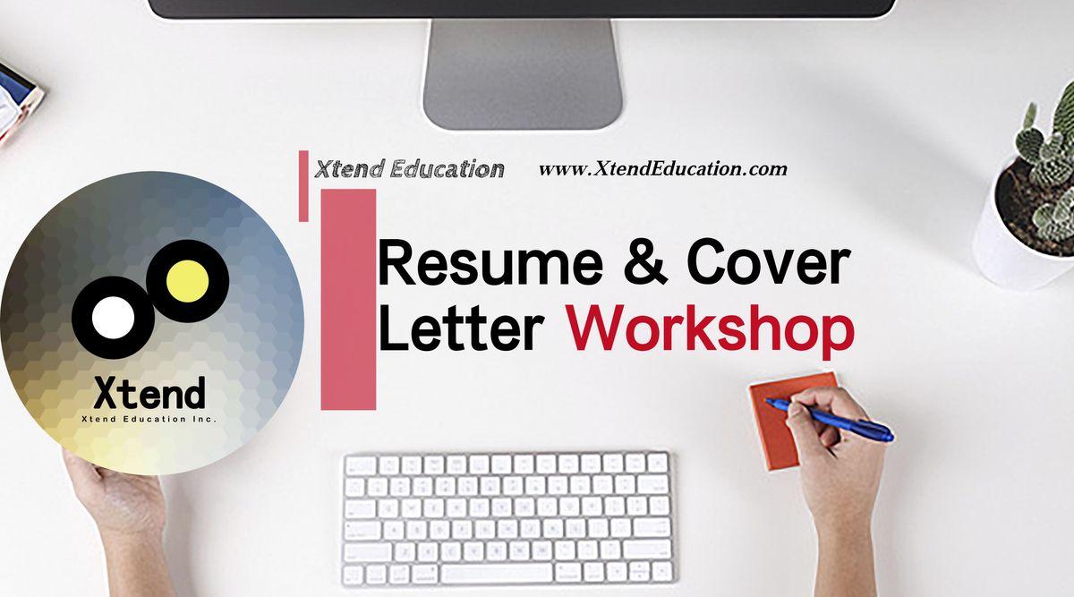 Resume Cover Letter 1 On 1 Workshop Online At Oakville Oakville