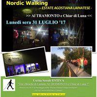 Nordic Walking al Tramonto e Chiar di Luna - Estate Agostiana