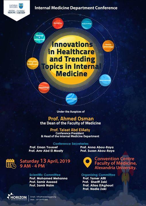 Innovations in Healthcare &Trending Topics in Internal Medicine at