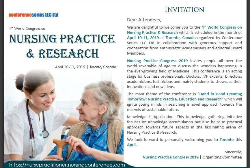 4th World Congress on Nursing Practice & Research (CSE) A