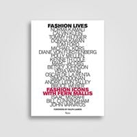 Fashion Lives Fashion Icons with Fern Mallis Book Signing