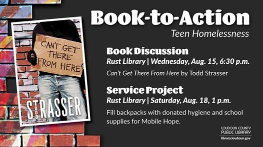 Book-To-Action Teen Homelessness