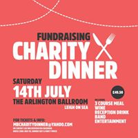 Charity Gala Dinner in aid of Southend Hospital and the BHF