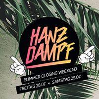 Hanz Dampf - Summer Closing Weekend