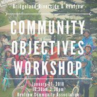 Bridgeland-Riverside &amp Renfrew Community Objectives Workshop