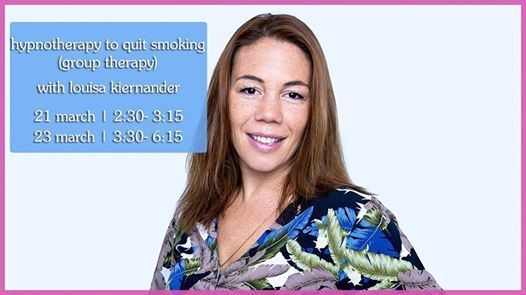 Hypnotherapy to Quit Smoking with Louisa Kiernander