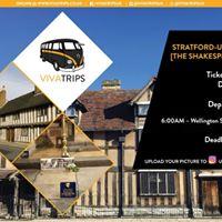 VIVA Trips Swansea to Stratford-upon-Avon (Shakespeare)  5 May