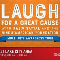 Laugh for a Great Cause w HAF &amp Rajiv Satyal in Salt Lake City