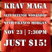 Krav Maga Workshop with Franco Morgan