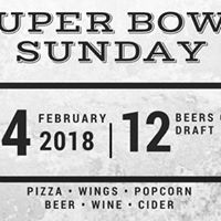 Superbowl Sunday at Artisanal Brew Works