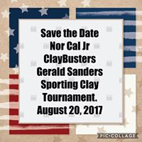 Nor Cal Jr ClayBusters Gerald Sanders Tournament