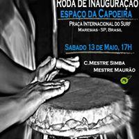 Roda na Praa &amp Peixe na Brasa  -  Inaugurao do Espao da capoeira