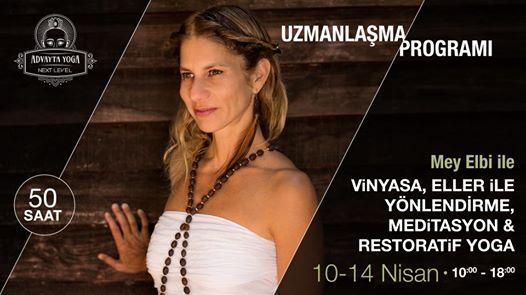 Mey Elbi ile Vinyasa-Ellerle Ynlendirme-Restoratif