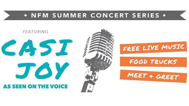 NFM Summer Concert Series Kansas City Feat. Casi Joy At Nebraska Furniture  Mart, Kansas City