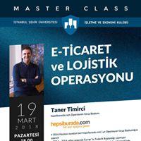 Master Class-E-Ticaret ve Lojistik Operasyonu