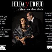Hilda y Freud en Rosario