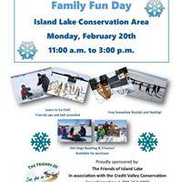 Family Fun Day at Island Lake